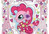 Livre My Little Pony: Coloring Harmony: Dazzling Designs from Equestria de Hasbr...