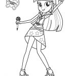MY LITTLE PONY coloring pages - Twilight Sparkle Sings