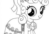 Mewarnai Gambar My Little Pony Yang Cantik