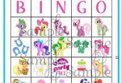 My LIttle Pony BINGO game personalized by ckfireboots on Etsy, $13.00  Bingo, ck...