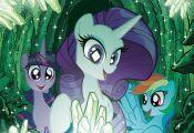 My Little Pony #8 Emerald Knights Variant by TonyFleecs on DeviantArt