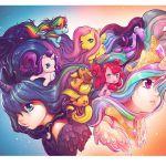 My Little Pony Art Print by Camilla d'Errico