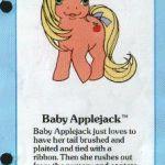 My Little Pony Baby Applejack fact file ...