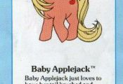 My Little Pony Baby Applejack fact file ...