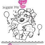 My Little Pony Birthday Coloring Pages – From the thousand images on-line with...