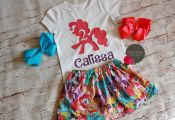 My Little Pony Birthday Outfit, My Little Pony skirt, My Little Pony Personalize...