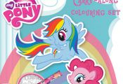 My Little Pony Carry Along Colouring Set Travel Activity Kids Party Bag