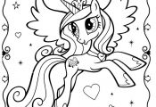 My Little Pony Coloring Page 12 cakepins.com