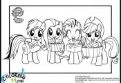 My Little Pony Coloring Page Coloring Pages Pinterest