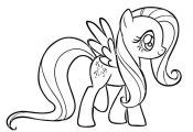 My Little Pony Coloring Pages Fluttershy Coloring Home  Coloring, FLUTTERSHY, ho...