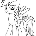 My Little Pony Coloring Pages Rainbow Dash – Through the thousands of pictures...
