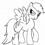My Little Pony Coloring Pages Rainbow Dash Flying - east-color.com/...