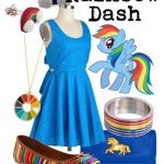 My Little Pony Coloring Pages Rainbow Dash Human - Colouring4u.