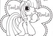 My Little Pony Coloring Pages - Toola Roola