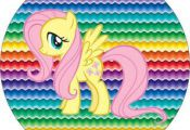 My Little Pony Cores Fortes – Kit Completo com molduras para convites, rótulo...