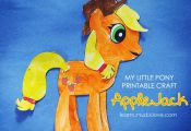 { My Little Pony Craft: AppleJack }