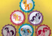 My Little Pony Cupcake Toppers Birthday Party by TopperoftheWorld, $9.00