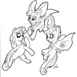 My Little Pony Cutie Mark Coloring Pages – From the thousands of pictures onli...