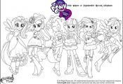 My Little Pony Equestria Girls Coloring Pages | Equestria girls ...