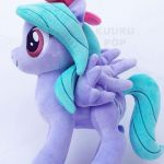 My Little Pony Flitter Plush Elegant pegasus Flitter has a turquoise mane tied w...