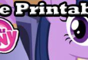 My Little Pony Free Printables