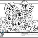My Little Pony Friendship is Magic Coloring Page – Through the thousands of im...