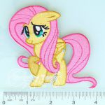 My Little Pony: Friendship is Magic FLUTTERSHY Iron on Embroidery Patch Applique...