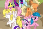 My Little Pony Friendship is Magic Fan Art: What's with these strange colors...