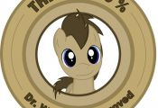 My Little Pony Friendship is Magic This is 100% Dr Whooves Approved badge, origi...