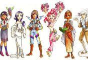 My Little Pony Girls 1 Color by gambitgurlisis.de… on deviantART  color, Devia...