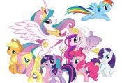 My Little Pony Girls Room Colorful Bright Fun by Stillwatersgifts, $9.99  bright...