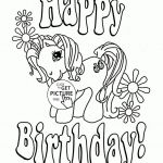 My Little Pony Happy Birthday Coloring Page – From the thousand photos on the ...