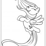 My Little Pony Happy Fluttershy Coloring Page Free