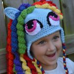 My Little Pony Hat with earflaps