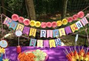 My Little Pony Inspired Birthday Banner by RileyJInspired on Etsy, $40.00