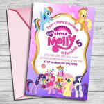 My Little Pony Invitation My Little Pony Invite My Little