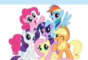 My Little Pony Iron On Transfer 4.5 x 5.25 for LIGHT Colored Fabric