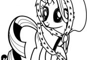 My Little Pony Little Rarity Coloring Pages