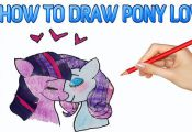 My Little Pony Love Drawing | My Little Pony Coloring    #horses #horse #tagsfor...