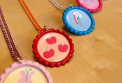 My Little Pony MLP Friendship is Magic Deluxe Necklace Colored Chain - SET (6) $...