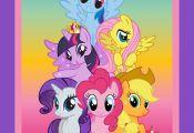 My Little Pony Panel on Etsy $10