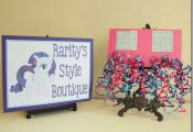 My Little Pony Party Ideas - Pony Style Boutique! Maybe face painting?