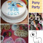 My Little Pony Party  party, Pony #cartoon #coloring #pages