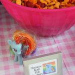 My Little Pony Party-would do Rainbow Dash for the fruit tray