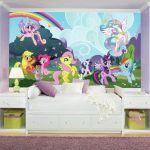 My Little Pony Ponyville XL Wallpaper Mural 10.5' x 6'