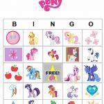 My Little Pony Printable Activities | Printable My Little Pony Bingo cards  Acti...