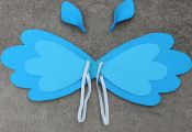 My Little Pony Rainbow Dash Inspired Wings and Ears