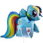 My Little Pony Rainbow Dash Shaped Blln Each  Blln, Dash, Pony, Rainbow, Shaped ...
