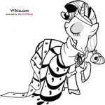 My Little Pony Rarity Coloring Pages