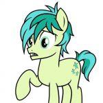 My Little Pony Sandbar digital coloring book page video Sandbar coloring book pa...